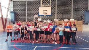 Participant.e.s au Camp Generation Basket